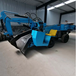 挖掘式扒渣機ZWY-60型礦用扒渣機皮帶傳送扒裝機四輪驅動
