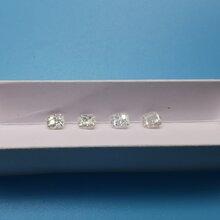 5mm圆形八心八箭莫桑奢白系列D色莫桑石裸石配石宝石大厦