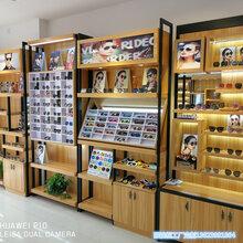 南京眼镜店眼镜展示柜太阳镜展示柜台精品烤漆眼镜玻璃柜