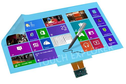 厂家直销透明电磁天线板电磁触控屏压力感应精确书写ETAP1.0