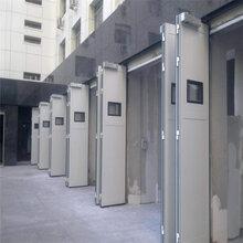 天津电动工业折叠门安装维修图片
