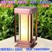 艾诺威小区售楼部草坪灯厂家新中式柱头灯仿云石庭院灯