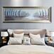 现代简约酒店床头工艺画酒店床头装饰画酒店客房装饰画