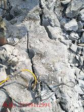 桂林岩石矿山不允许爆破分石头破裂机