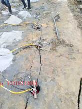 湛江扩宽道路有硬石头怎么办劈裂棒·质量保证图片