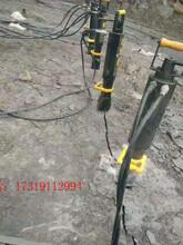 漯河替代放炮采石场涨裂机岩石爆破机图片