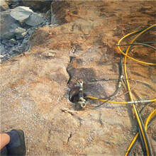 炮锤破石太慢用裂石机售后有保障图片