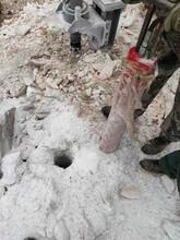 洞采礦石用分裂機攀枝花圖片