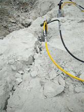 炮锤破石太慢矿山岩石爆破机江门图片
