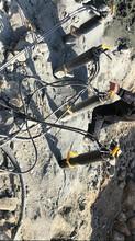 炮錘破石太慢礦山巖石爆破機三沙圖片