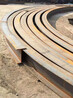 隧道支護工字鋼彎曲機