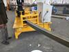 齊齊哈爾小弧度U型鋼折彎機施工案例