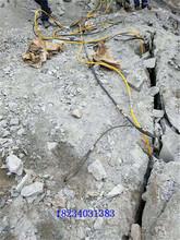 烟台建筑工程风镐破石产量低劈裂棒环保无粉尘图片