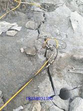 秦皇島基坑巖石拆除專用爆破機好用嗎圖片
