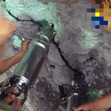 玉林市人工挖河道便携式破石分裂机性价比高图片