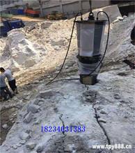 恩施大块石头二次分解劈裂机不受环境影响图片