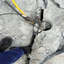 大型裂石机施工案例图片