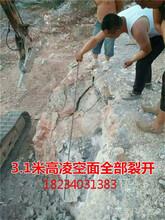 河南省水溝渠道劈裂機裂石器廠家直銷圖片