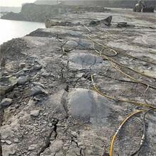 深圳挖機帶動式開石器工作效率高圖片