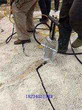 手持式岩石分石机厂家电话图片