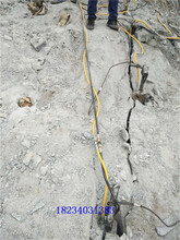 保定大型巖石分裂機價格報價圖片
