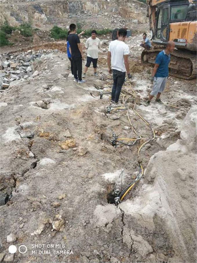 阳江岩石开采劈裂机分裂机价格报价