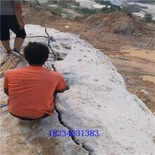 基礎開挖分石機聯系電話圖片