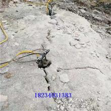 安全快速裂石器施工案例图片