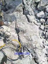 銅川拆除劈裂機裂石機價格報價圖片
