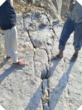 玉树州基坑劈石机开山器效率高图片
