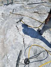吉安市柱塞式劈石棒圖片
