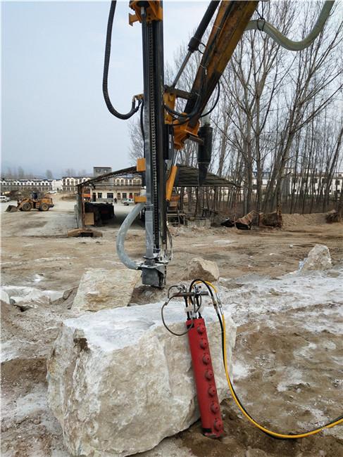 大慶市液壓巖石靜態劈石器方量高