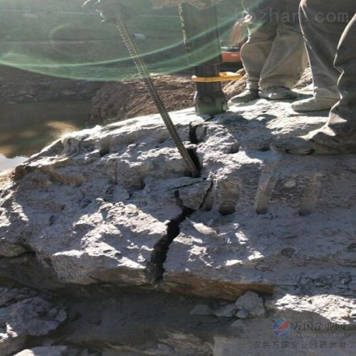 新余市井下巖石劈裂機劈石器成本低