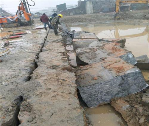 梅州市拆除石頭好分石機效率高