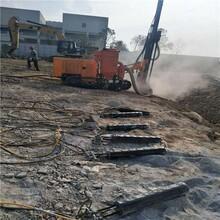 武汉市大型岩石分裂机现场图片图片