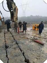 黃山礦用巖石劈裂機廠家直銷圖片