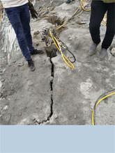 昆明剝離分裂泵破石機圖片