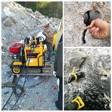 渭南挖機帶動式裂石機口碑好