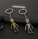 金屬鑰匙扣生產廠家銷售店禮品制作來圖定做廠