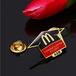 金屬麥當勞胸章企業胸章定做沈陽胸章制作廠