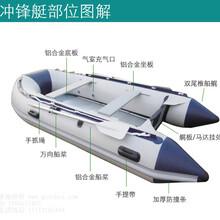 玻璃钢船,防汛救生抗洪玻璃艇塑料船塑料艇图片