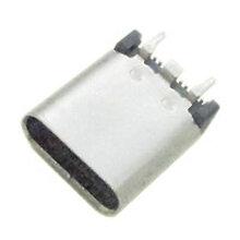24P立式TYPE-C公头TYPEC连接器图片