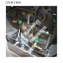 中国重汽系列新斯太尔欧式单体天然气瓶图片厂家图片
