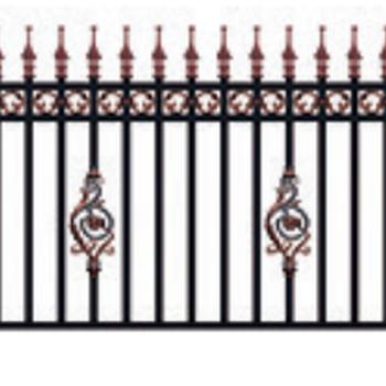 铝合金别墅庭院护栏