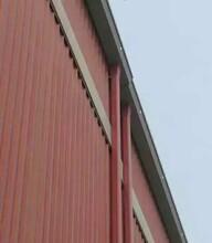 天津彩钢雨水管144x108型/彩铝落水管图片