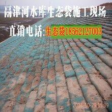 护坡生态袋生产厂家批发价格_抗老化环保草种框架梁植生袋施工方案图片