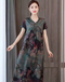 凱夢酈達媽媽裝真絲連衣裙品牌折扣女裝批發焦作三薈折扣女裝批發