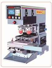 WN-121S莆田荣龙双色自动移印机小型自动移印机双色穿梭移印机