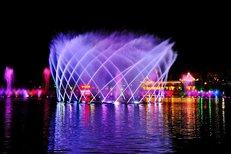 淄博音乐喷泉施工维修图片5