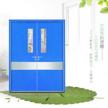 医院工程专用门定制新款铝蜂窝环保洁净隔音HPL防火板铝木生态门
